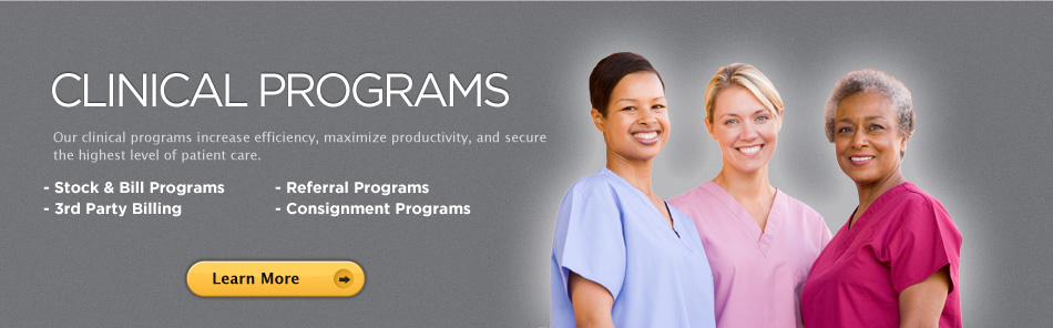 Our clinical programs increase efficiency, maximize productivity, and secure the highest level of patient care